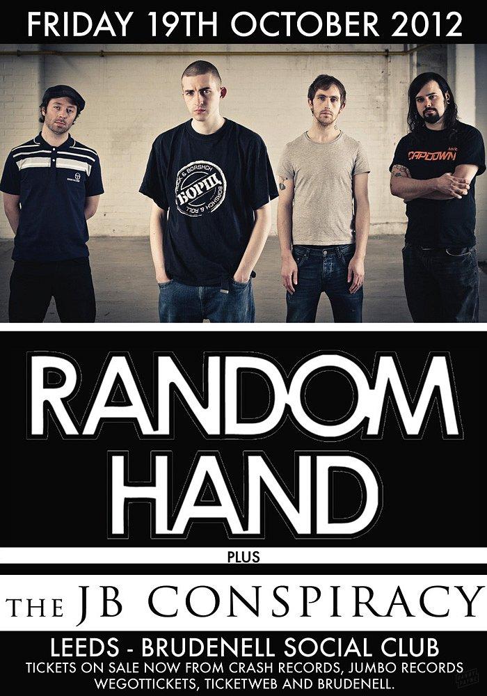 Random Hand Tour Poster