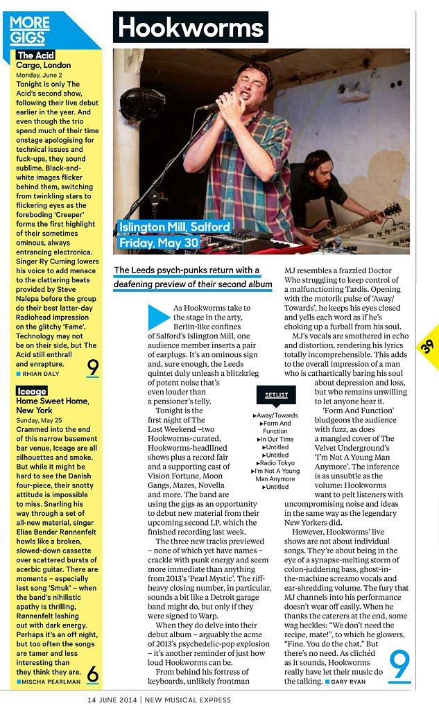 Hookworms // NME
