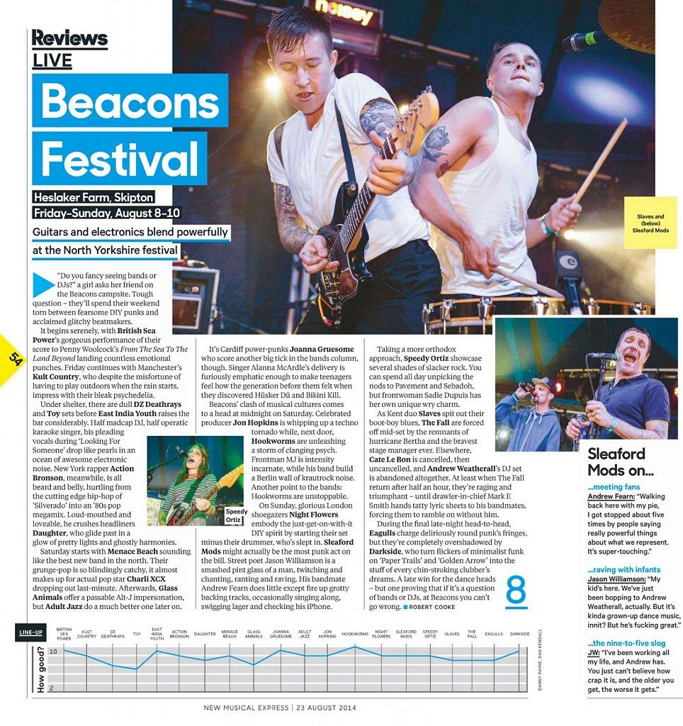Beacons Festival // NME