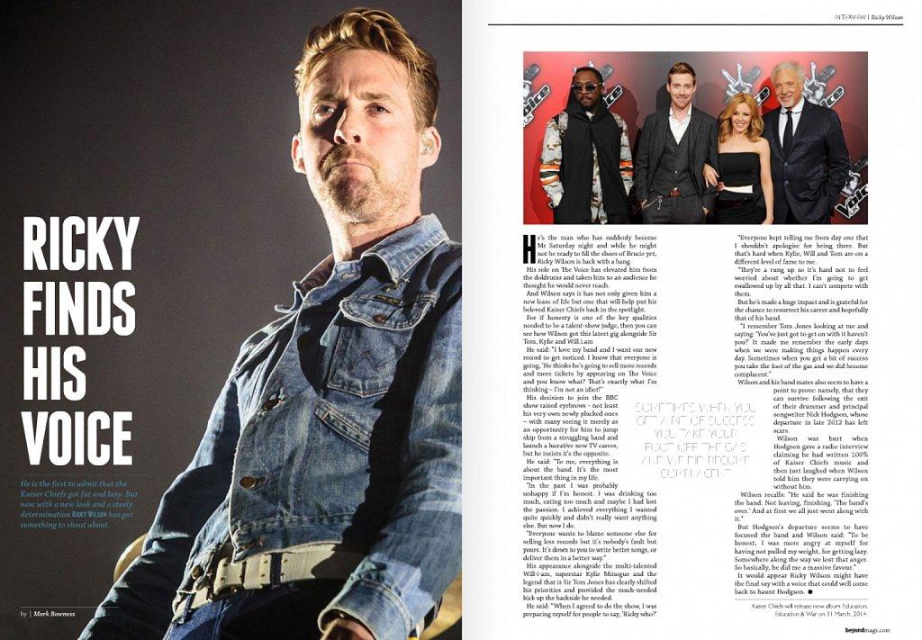 Kaiser Chiefs // Beyond Magazine