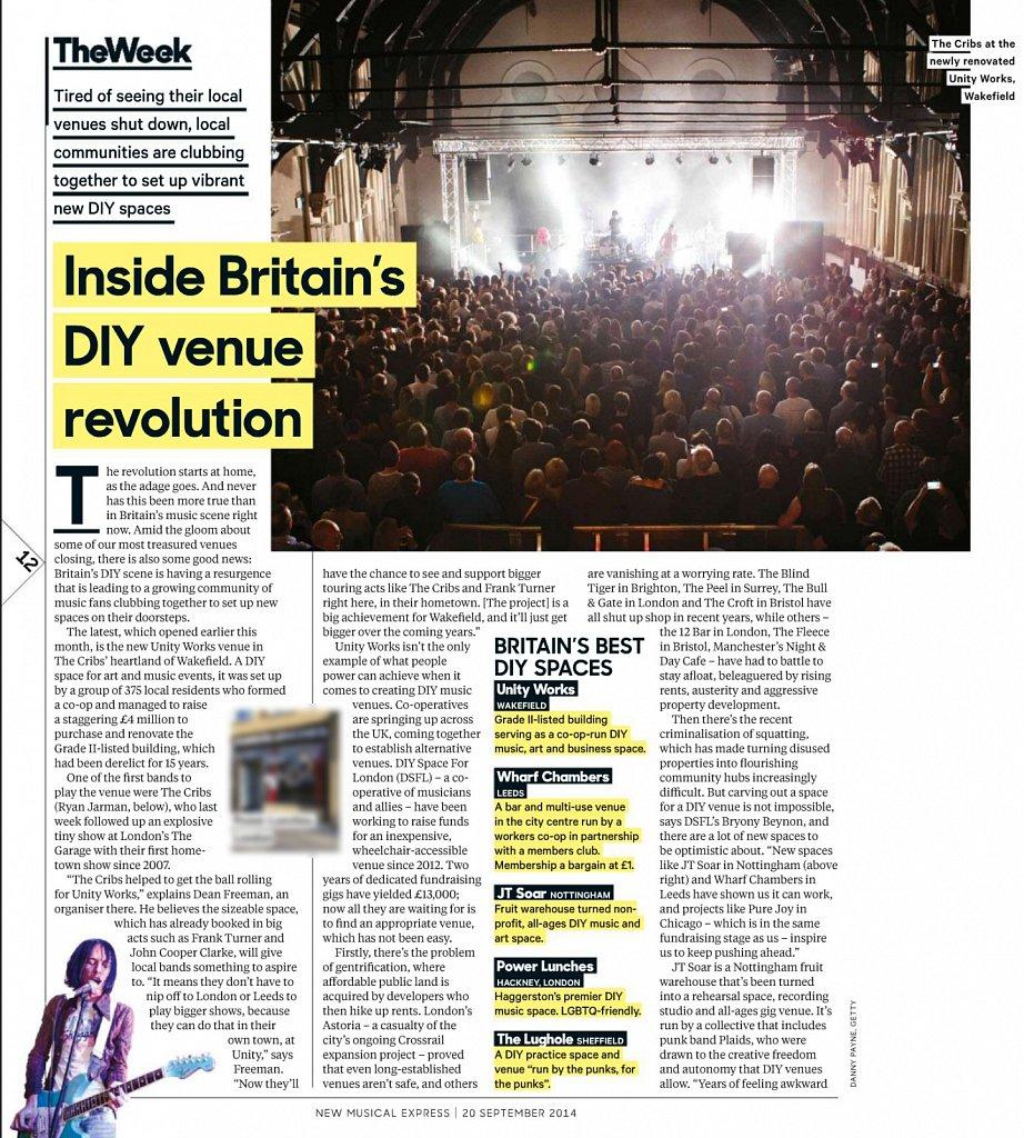 Wakefield Unity Works // NME