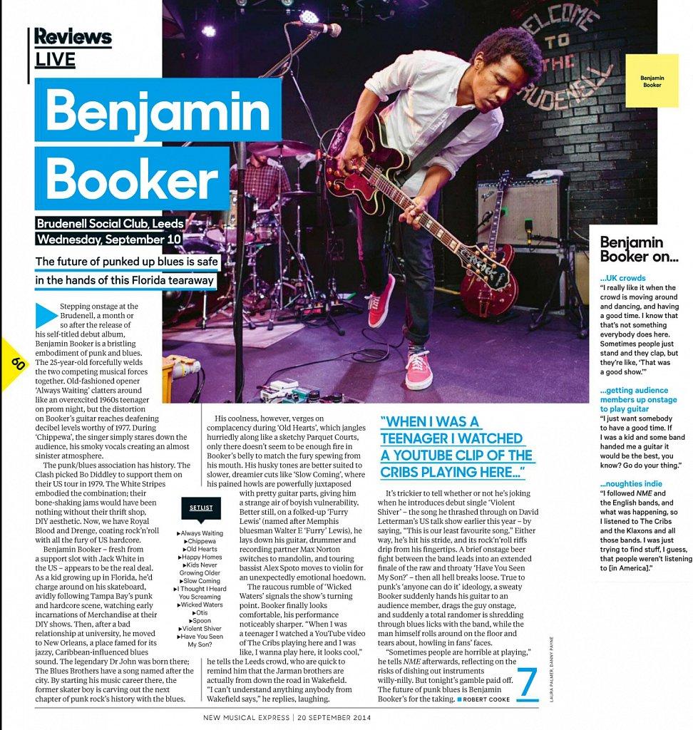 Benjamin Booker // NME