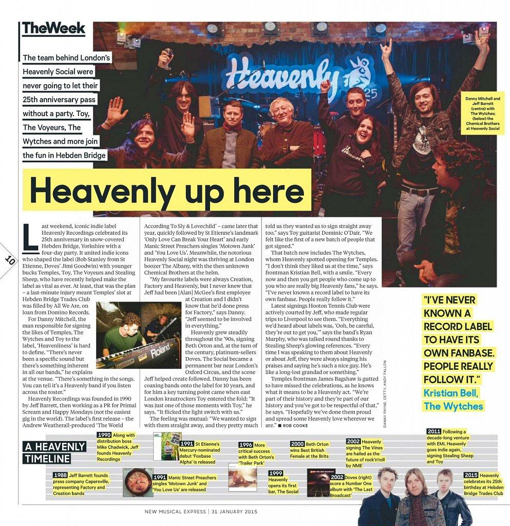 Heavenly Recordings // NME