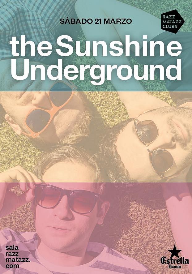 The Sunshine Underground // Barcelona Poster