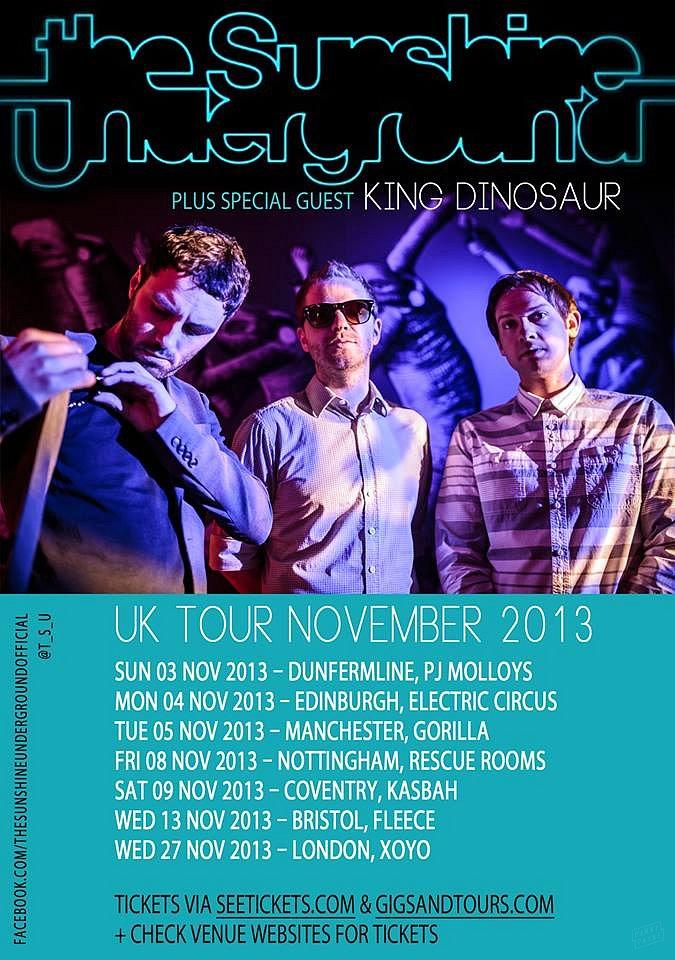 The Sunshine Underground // Tour Poster 2013