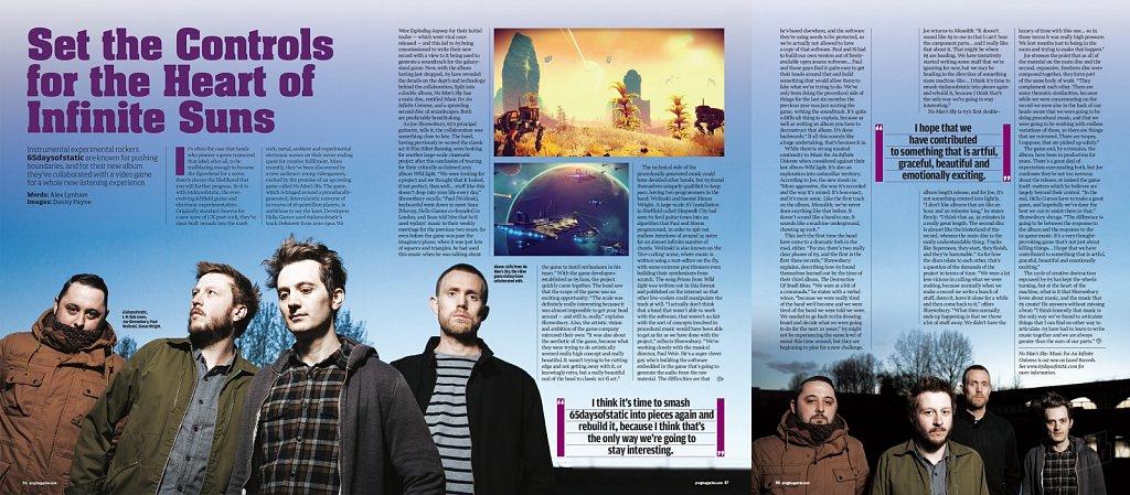 65daysofstatic // Prog Magazine