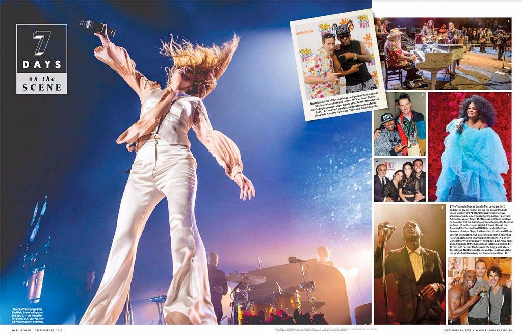 Florence + The Machine // Billboard