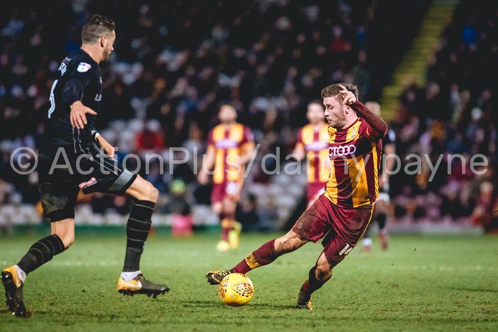 Bradford City vs Oxford United, Dec 2017