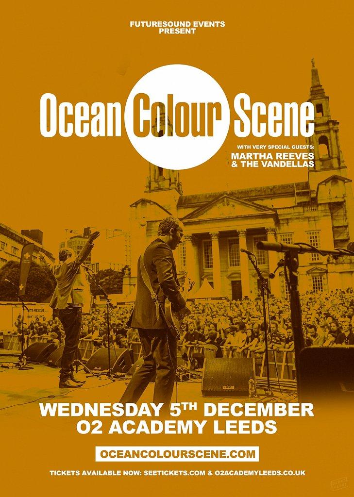 Ocean Colour Scene // Leeds Poster 2018